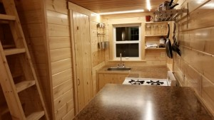Tiny house interior glenmark construction