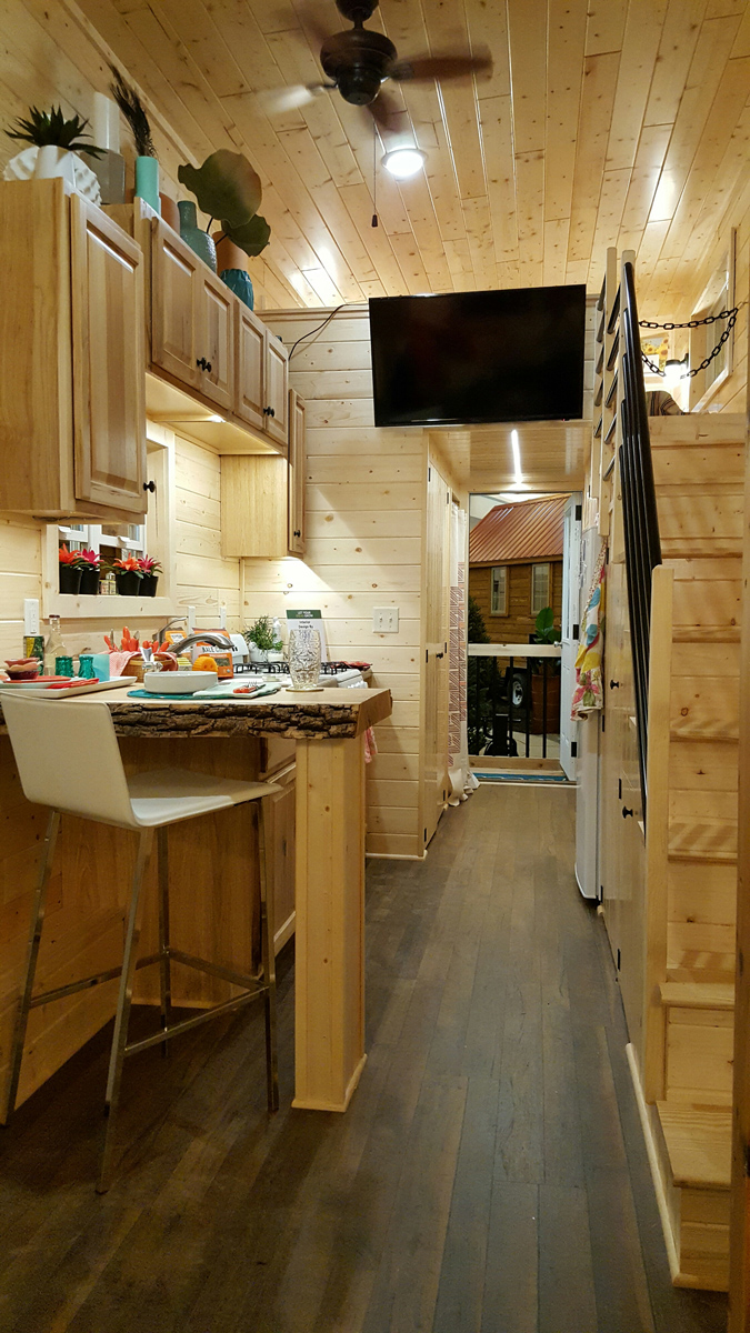 The Getaway Tiny House Project Glenmark Construction Inc